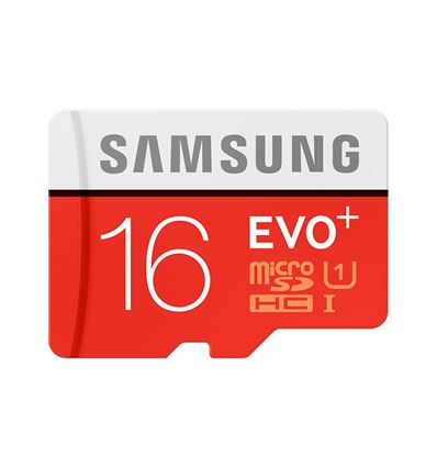MEMORIA MICRO SD SAMSUNG 16GB + ADAPTADOR CLASS10 - SAMSUNG 16GB PLUS CL10
