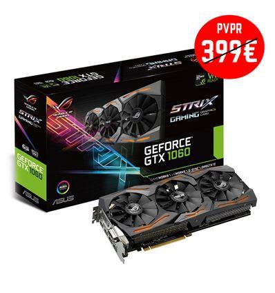 TARJETA GRAFICA ASUS GTX1060 6GB STRIX - GTX1060 STRIX 6GB