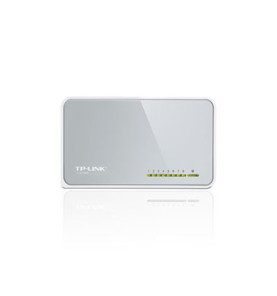 SWITCH TP-LINK 8 PUERTOS 10/100 TL-SF1008D - TL-SF1008D