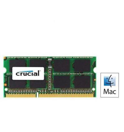 MEMORIA CRUCIAL 4GB DDR3 SODIMM 1066 APPLE - MEMORIACRUCIAL4GBAPPLE