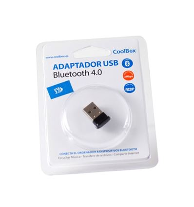 ADAPTADOR COOLBOX BLUETOOTH 4.0 USB MINI - AD01CB02