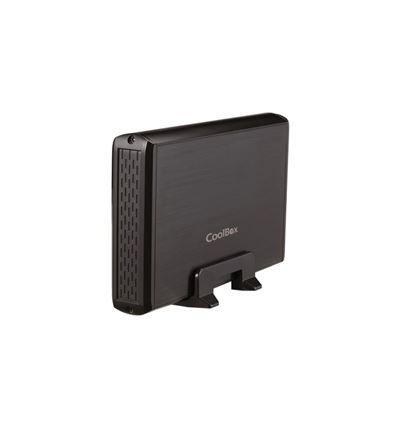 CAJA EXTERNA COOLBOX SLIMCHASE 3531 USB 3.0 NEGRA - CJ05CB16