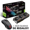 TARJETA GRAFICA ASUS GTX1080 8GB STRIX + GLADIUS