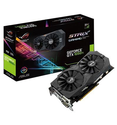 TARJETA GRAFICA ASUS GTX1050TI 4GB STRIX +CERBERUS - GTX1050TI STRIX 4GBP