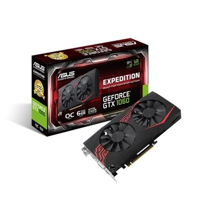 TARJETA GRAFICA ASUS GTX1060 6GB EXPEDITION - TG01AS12