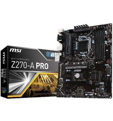 PLACA BASE MSI Z270-A PRO ATX LGA1151 - PBMS119