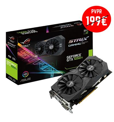 TARJETA GRAFICA ASUS GTX1050TI 4GB STRIX - GTX1050TI STRIX 4GB-4