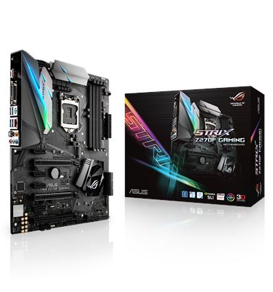 PLACA BASE ASUS STRIX Z270-F GAMING SOCKET 1151K - PB01AS104