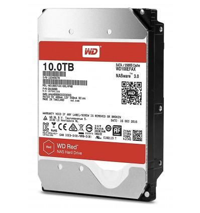 DISCO DURO WESTERN DIGITAL RED 10TB WD100EFAX