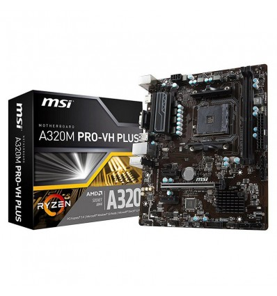PLACA MSI A320M PRO-VH PLUS AMD AM4 A320 2DDR4 32+