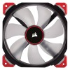 VENTILADOR CORSAIR CAJA ML140 PRO LED ROJO