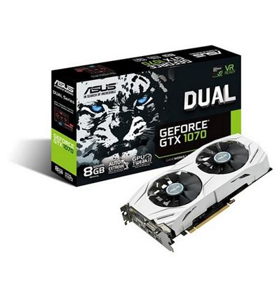 TARJETA GRAFICA ASUS GTX1070 8GB DUAL OC - TG01AS06