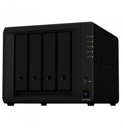 SERVIDOR NAS SYNOLOGY DS418 PLAY