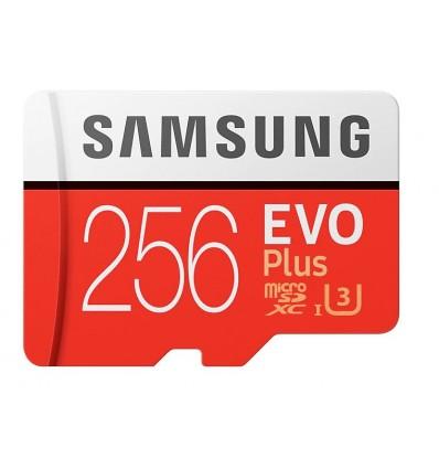 MEMORIA MICRO SD SAMSUNG EVO+ 256GB