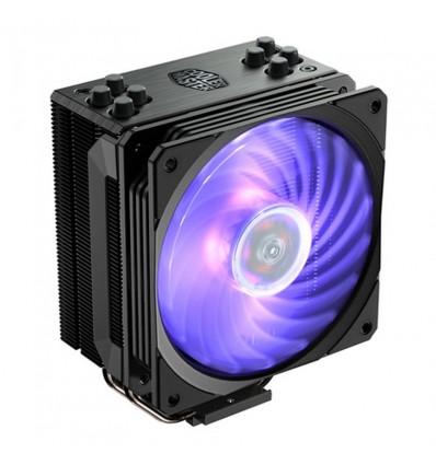 VENTILADOR CPU COOLER MASTER HYPER 212 RGB BLACK N