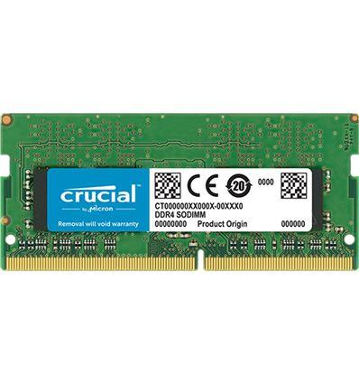 MEMORIA CRUCIAL 8GB DDR4 2400 SODIMM - ME05CR19