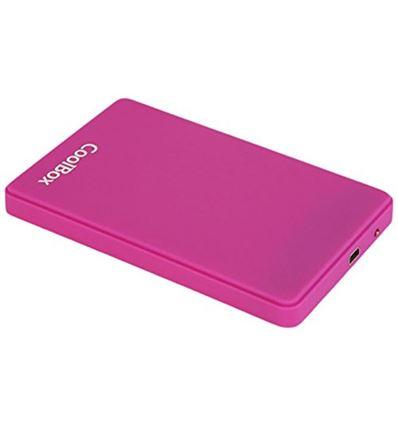 CAJA EXTERNA COOLBOX SCG2543 MORADO 2.5 USB 3.0 - COOLBOXSCG2543MORADO