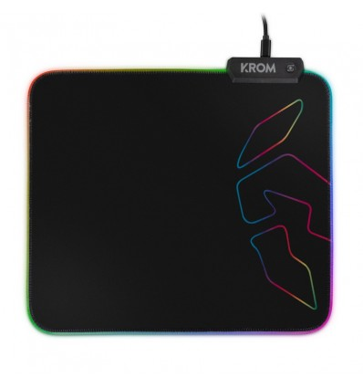 KROM ALFOMBRILLA GAMING KNOUT RGB
