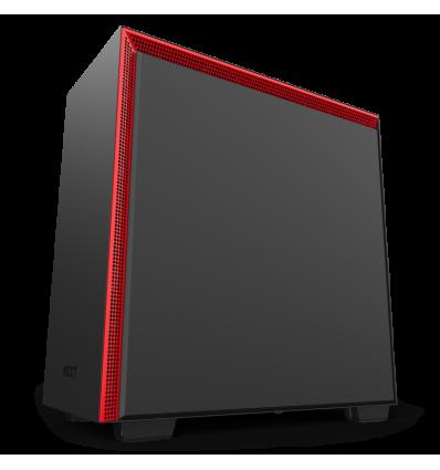Caja para ordenador NZXT H710 Negro y Rojo