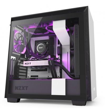 Caja para ordenador NZXT H710i Blanco y Negro
