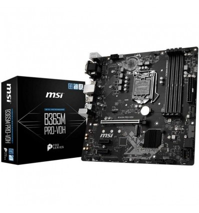 PLACA BASE MSI B365M PRO-VDH SOCKET 1151C