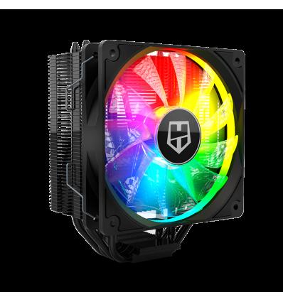 VENTILADOR CPU NOX HUMMER H-224 ARGB