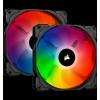 Ventilador CORSAIR SP140 RGB PRO Pack de 2