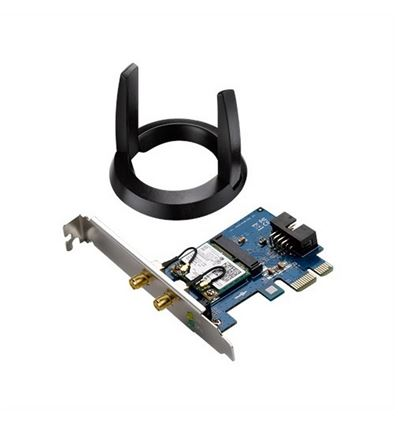 TARJETA ASUS PCE-AC55BT WIRELESS DUAL BAND BT - ASUS PCE-AC55BT
