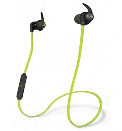 AURICULARES CREATIVE OUTLIER SPORTS VERDE