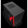 CAJA MINI ITX NZXT H210I SMART NEGRO-ROJO