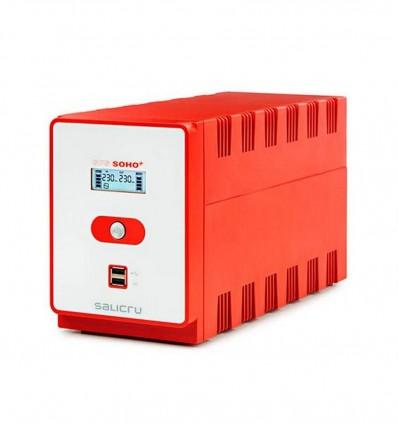 SAI SALICRU SPS 1200VA SOHO+ 720W 4*SHUKO 2*USB