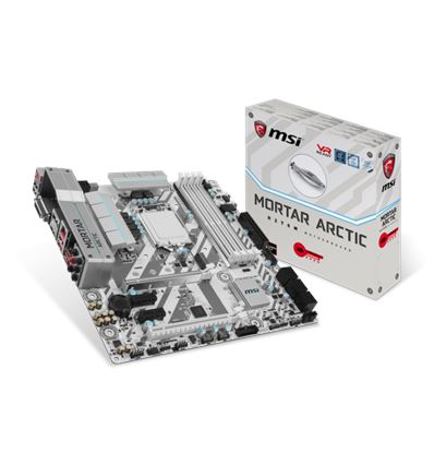 PLACA BASE MSI H270M MORTAR ARTIC - MSI H270M MORTAR ARTIC