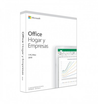 SOFTWARE MICROSOFT OFFICE 2019 HOME&BUSINESS