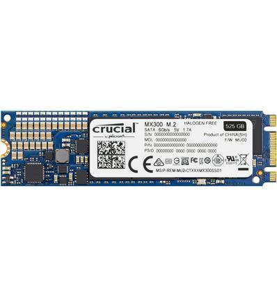DISCO SSD CRUCIAL 525GB MX300 CT525MX300SSD4 M.2 - MX300 525GB M2