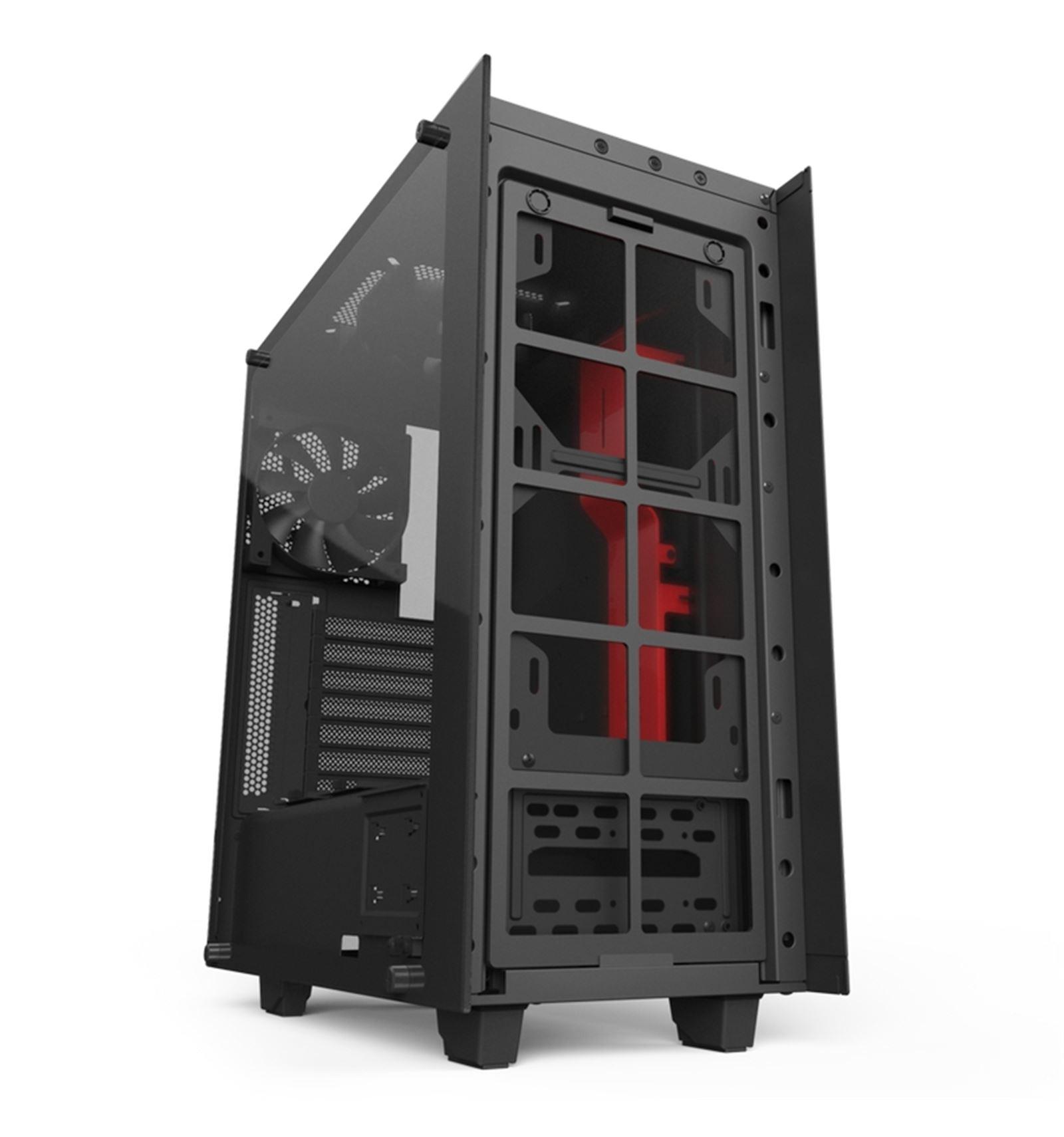 Comprar Caja Para Torre Nzxt S340 Elite Negra Roja En Red