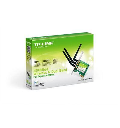 TARJETA TP-LINK TL-WDN4800 WIRELESS PCIe 450Mbs - TJ02TP03