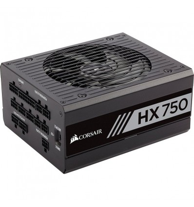 FUENTE ALIMENTACION CORSAIR HX750 WATT FULLY 80+