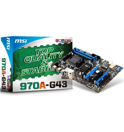 PLACA BASE MSI 970A-G43 SOCKET AM3+ - PB02MS04