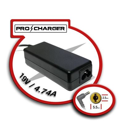 CARGADOR PRO CHARGER ASUS 19V 4,74A 90W - CG03PC20