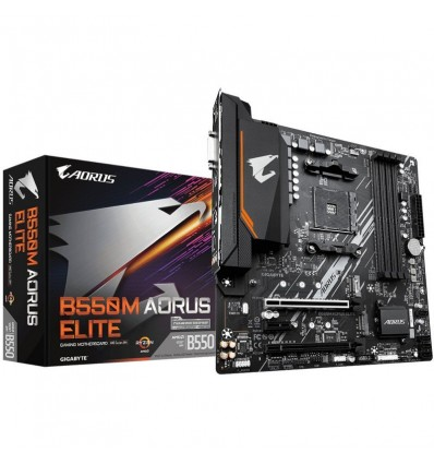 PLACA BASE GIGABYTE B550M AORUS ELITE