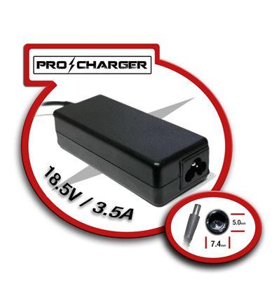 CARGADOR PRO CHARGER HP PAVILION 18,5V/3.5A 65W - CG03PC17