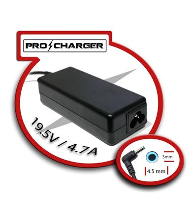 CARGADOR PRO CHARGER HP ENVY 19,5v/4,7A 90W - CG03PC09