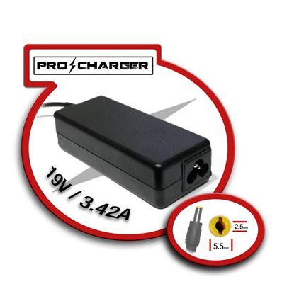 CARGADOR PRO CHARGER ASUS 19V 3,42A 65W - CG03PC01