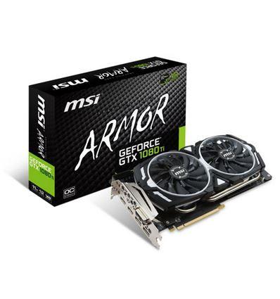 TARJETA GRAFICA MSI GTX1080Ti 11GB ARMOR - TG01MS16