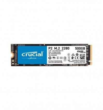 DISCO SSD CRUCIAL P2 500GB M.2 CT500P2SSD8