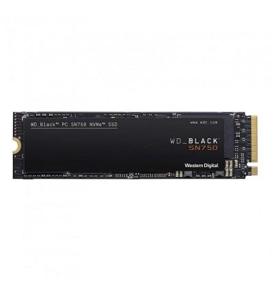 DISCO DURO WD BLACK SN750 500GB M.2 NVME