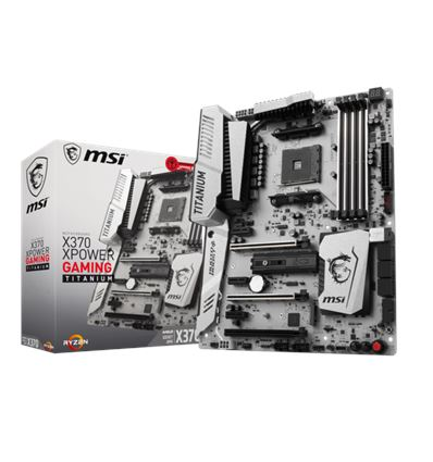 PLACA BASE MSI X370 XPOWER GAMING TITANIUM EDITION - MSI X370 XPOWER GAMING TITANIUM