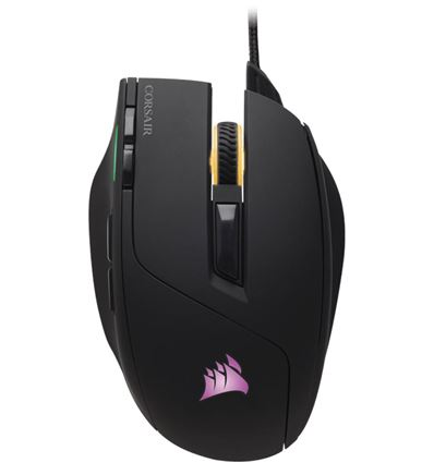 RATON CORSAIR GAMING SABRE RGB 10000 DPI NEGRO - RA01CO09