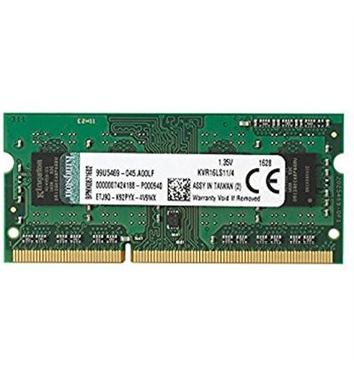 MEMORIA KINGSTON 4GB DDR3 1600 SODIMM KVR16LS11/4 - ME03KG01