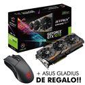 TARJETA GRAFICA ASUS GTX1070 8GB STRIX + GLADIUS